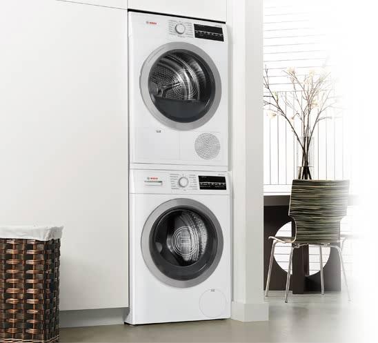 "Bosch Dryer wtg86401uc | bosch 24"" 500 series compact ventless electric dryer"