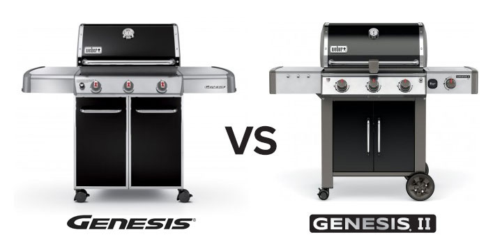 weber genesis vs genesis ii new design brings needed refresh to iconic genesis grills. Black Bedroom Furniture Sets. Home Design Ideas