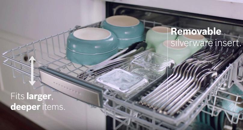 Bosch Dishwasher 3rd Rack