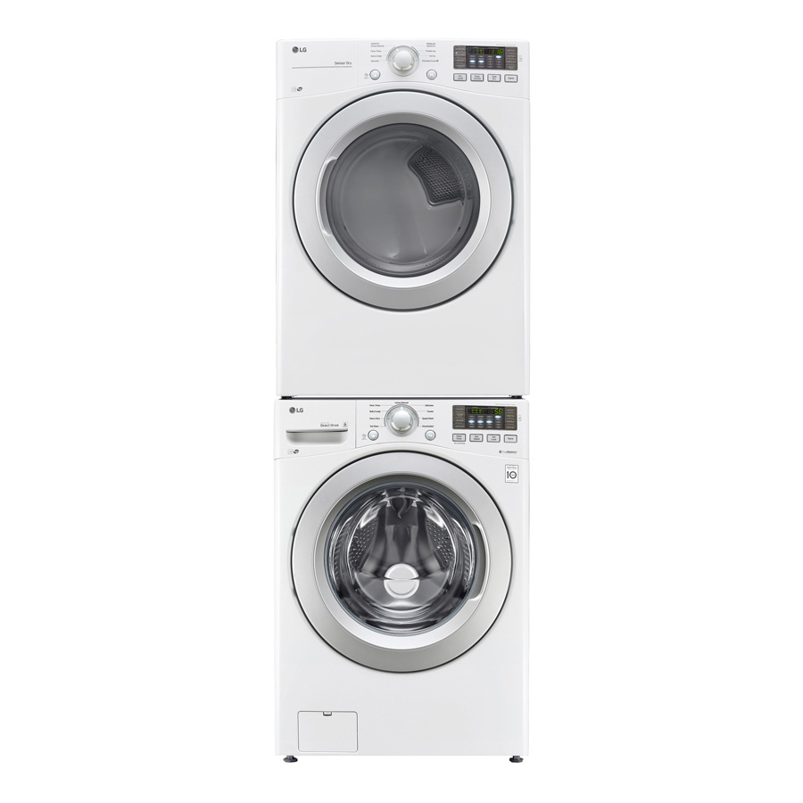 Gentil WM4370HWA White Or WM4370HKA Black Stainless Steel Washer With Associated  Electric Or Gas Dryers