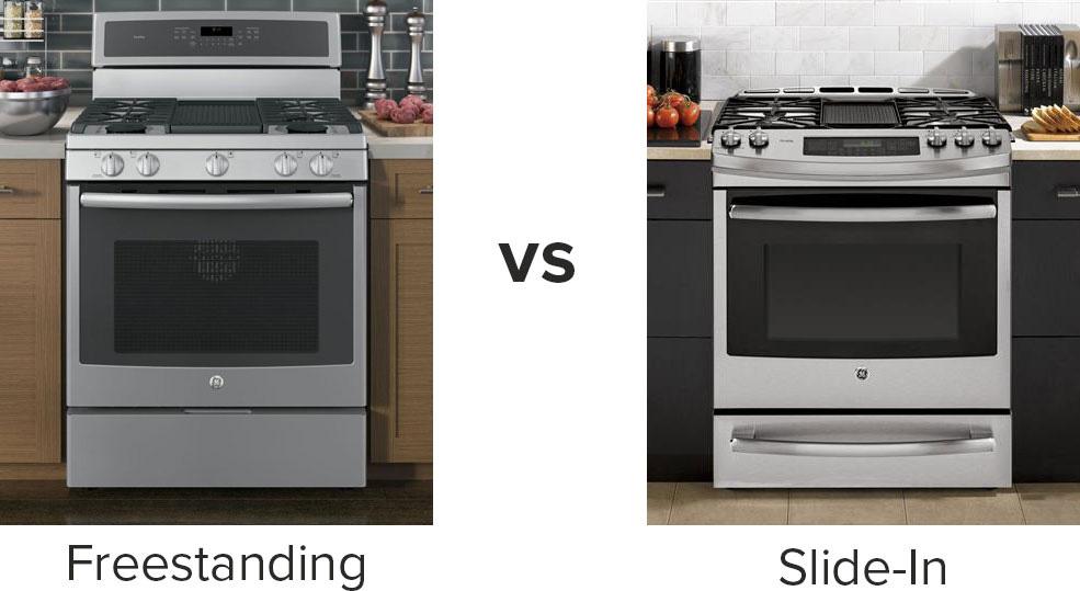 slide in vs freestanding what 39 s the best range for your kitchen. Black Bedroom Furniture Sets. Home Design Ideas