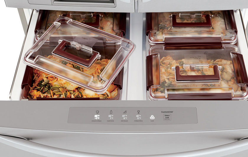 Eat a lot of Kimchi? You'll Love LG's Newest Refrigerator