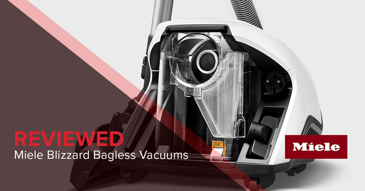 Miele Blizzard CX1 Review - Bagless Vacuum w/Hygienic Air Quality