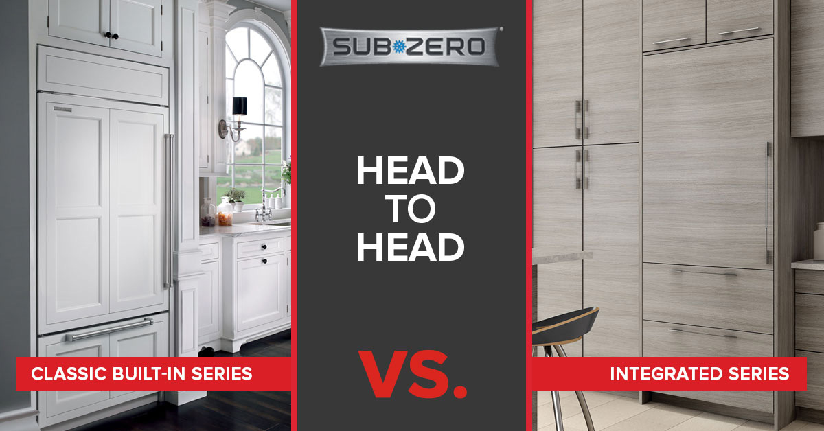 What's the Difference? Sub-Zero Classic Series vs. Integrated Refrigerators