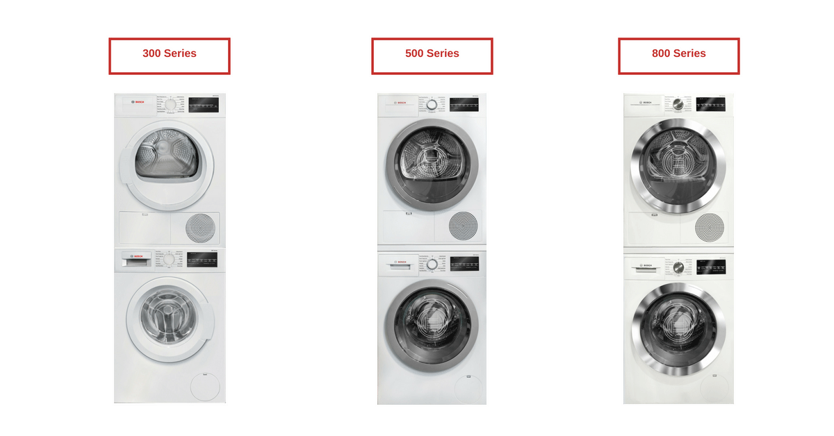 Bosch WasherDryer Review 300 vs 500 vs 800 Series
