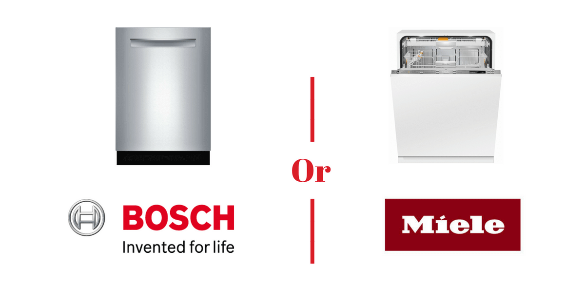 Bosch vs. Miele: Comparing the Two Best Manufacturers of High-Quality Dishwashers