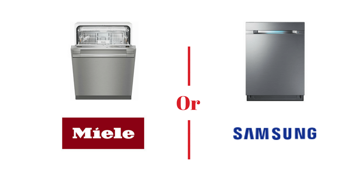 Miele vs. Samsung Dishwashers - An In-Depth Review