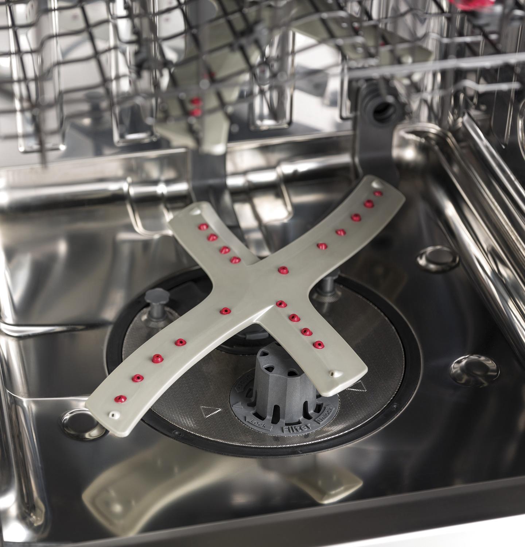 Reversing Quad Blade Lower Wash Arm