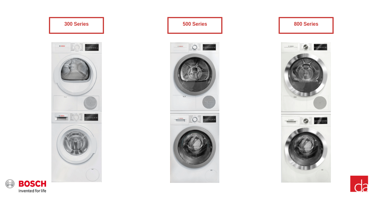 Bosch-Stackable-Washer-And-Dryer-Sets