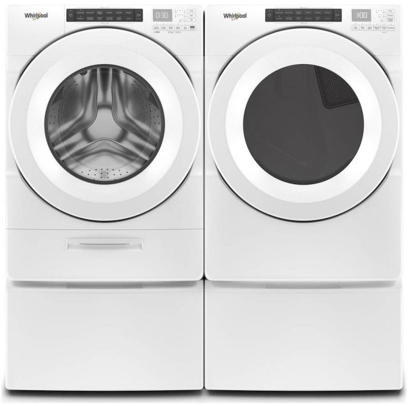 Best Whirlpool Stackable Washer And Dryer For 2019 Review