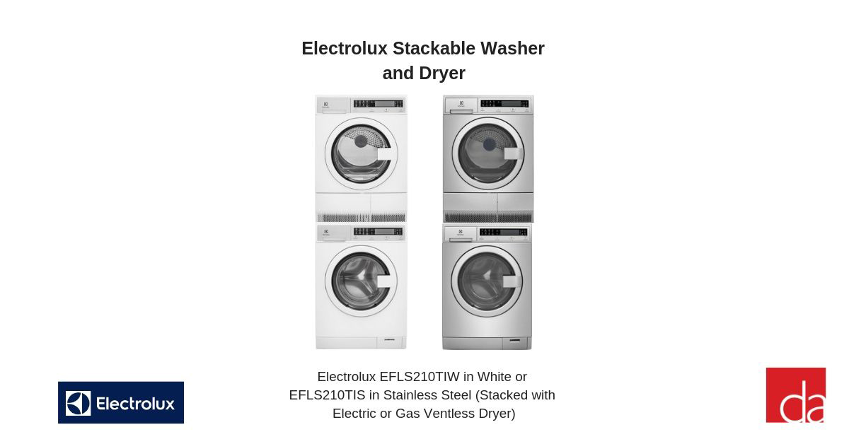 Stackable Washer And Dryer The 3 Best Sets Review