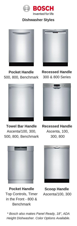 Bosch-Dishwasher-Styles-Designs