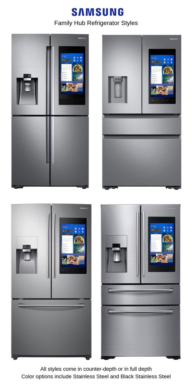 Samsung-Family-Hub-Refrigerator-Styles