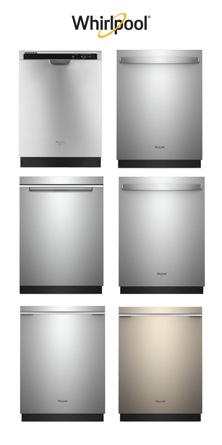 Whirlpool Dishwasher Styles