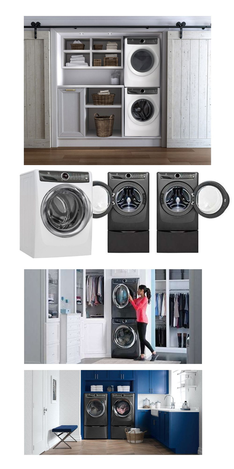 Washer-and-Dryer-Configurations
