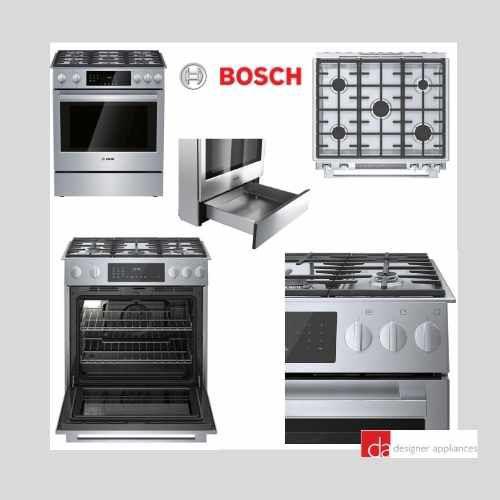 Bosch HGI8056UC 800 Series Slide In Gas Range