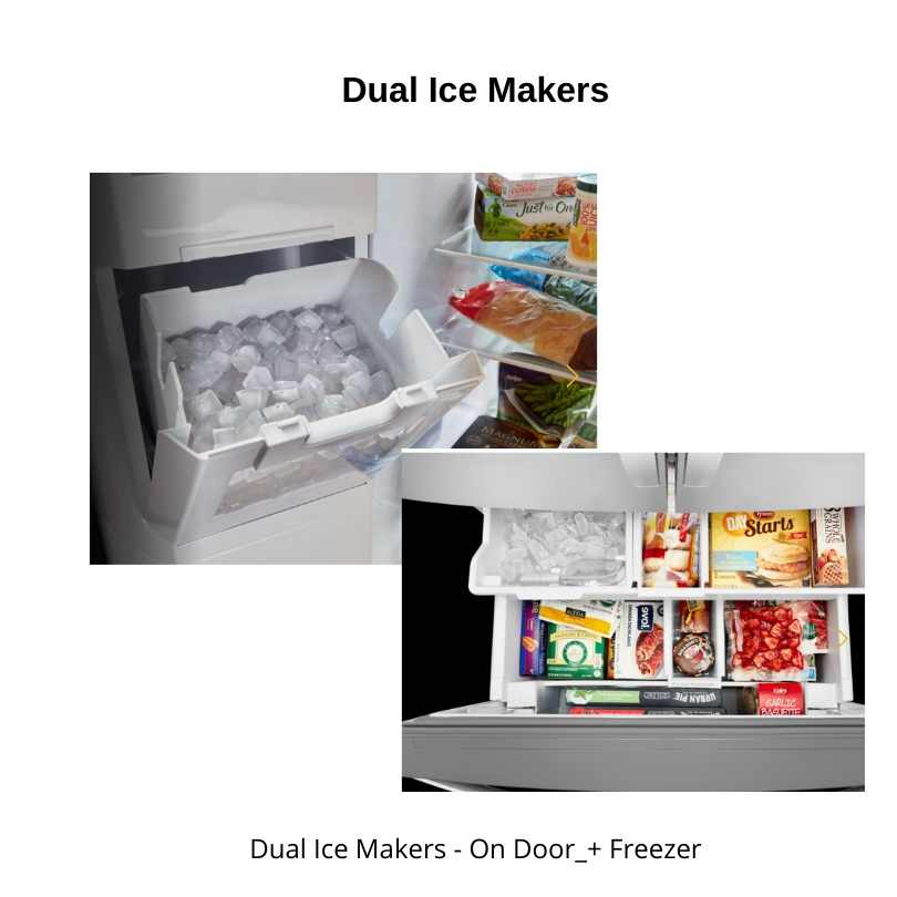 Dual-Ice-Makers