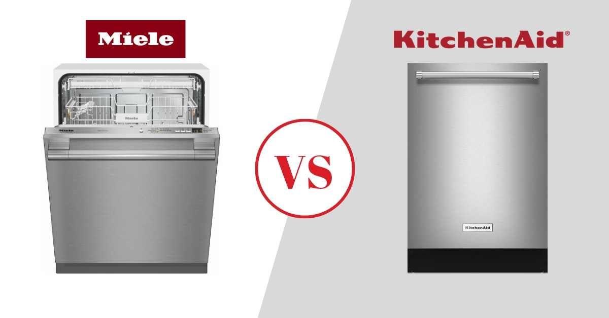 Miele vs KitchenAid Dishwashers Review (2020), Best Models & Comparisons