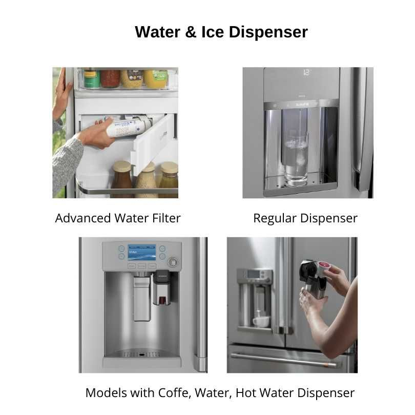 Water-Ice-Dispenser