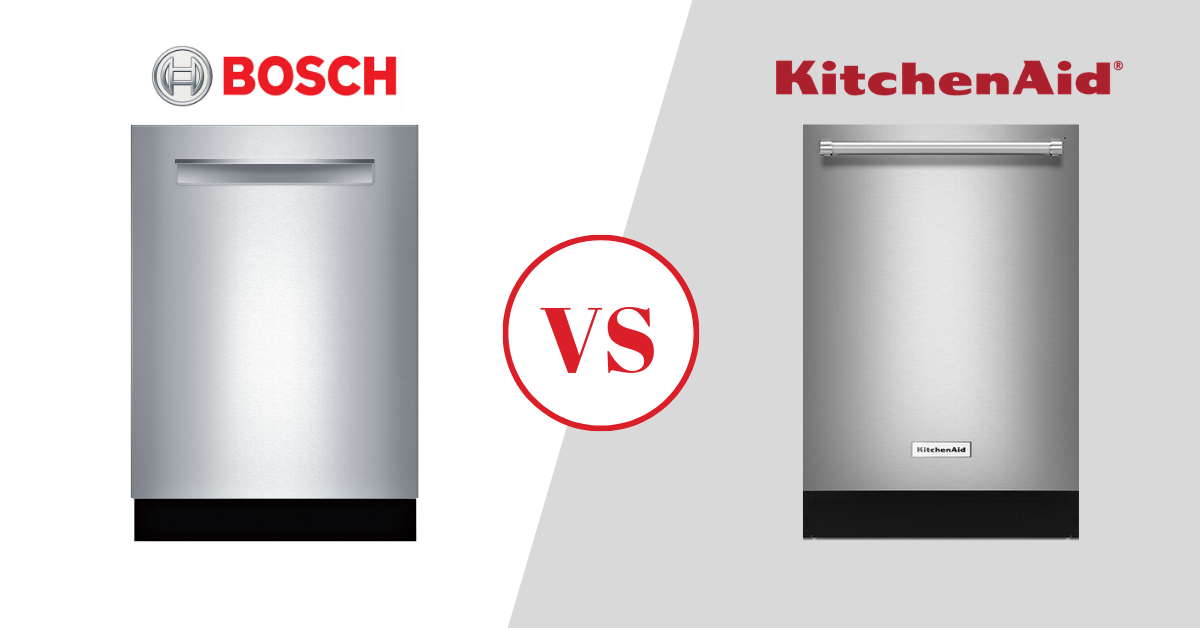 Bosch vs KitchenAid Dishwashers in 2020, How Well Do They Stack Up? [REVIEW]