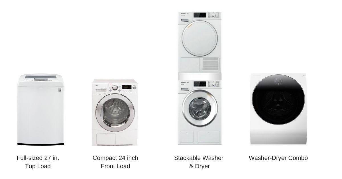 Washer-Dryer-Sizes