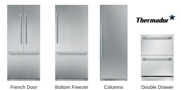 Thermador-Refrigerator-Types