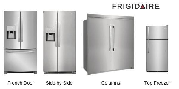 Frigidaire-Refrigerators-Styles
