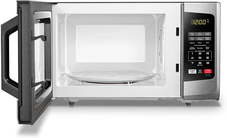 Toshiba EM925A5A Microwave Interior