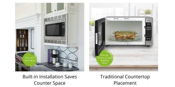 Panasonic-built-in-microwave