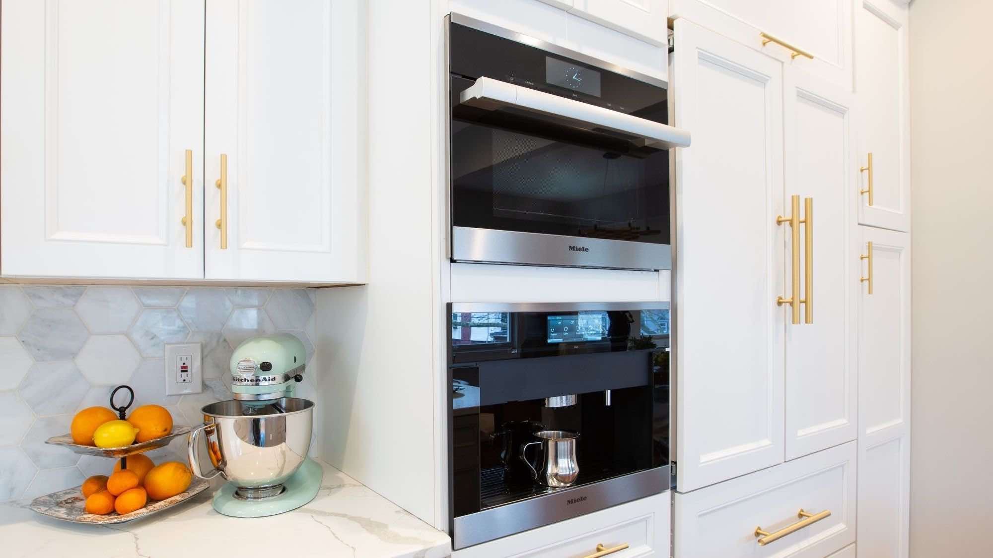 Miele coffee maker built-in installation