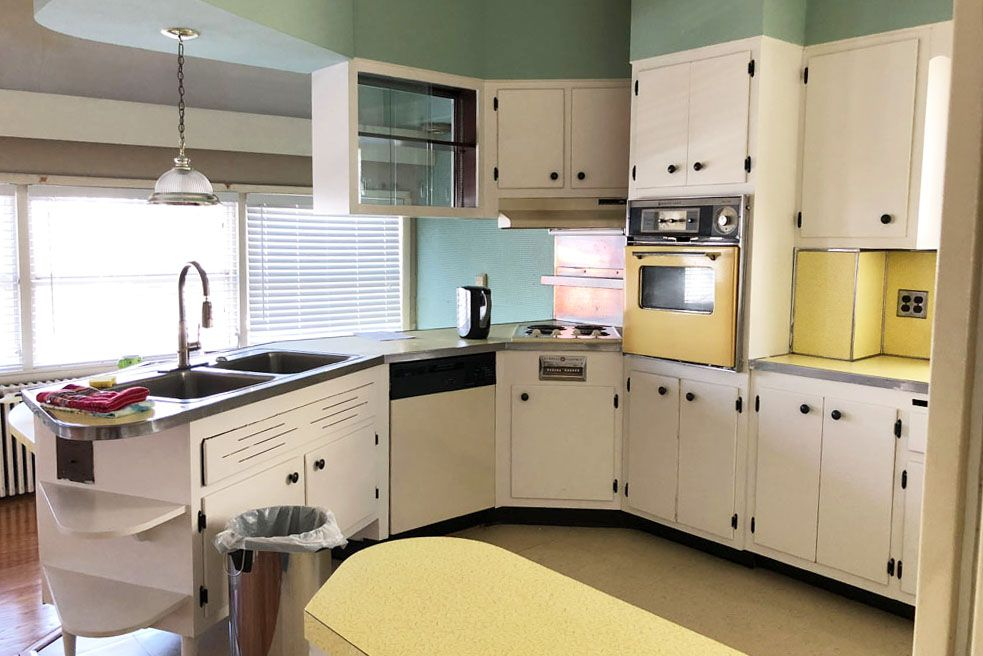 Kitchen Remodel Jersey City Nj What It Takes To Transform A Dated 1950s Kitchen