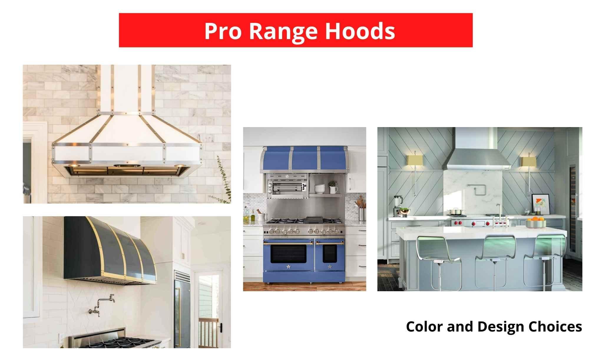 Pro Style Range Hood