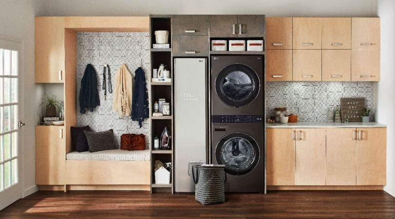 LG WashTower Laundry Room Idea