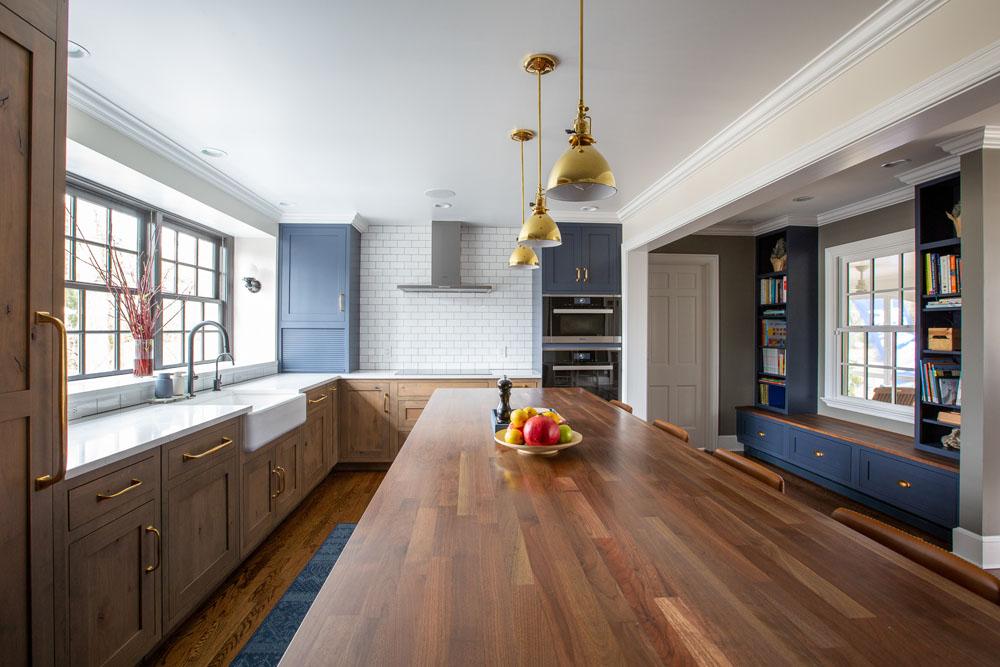 open kitchen plan