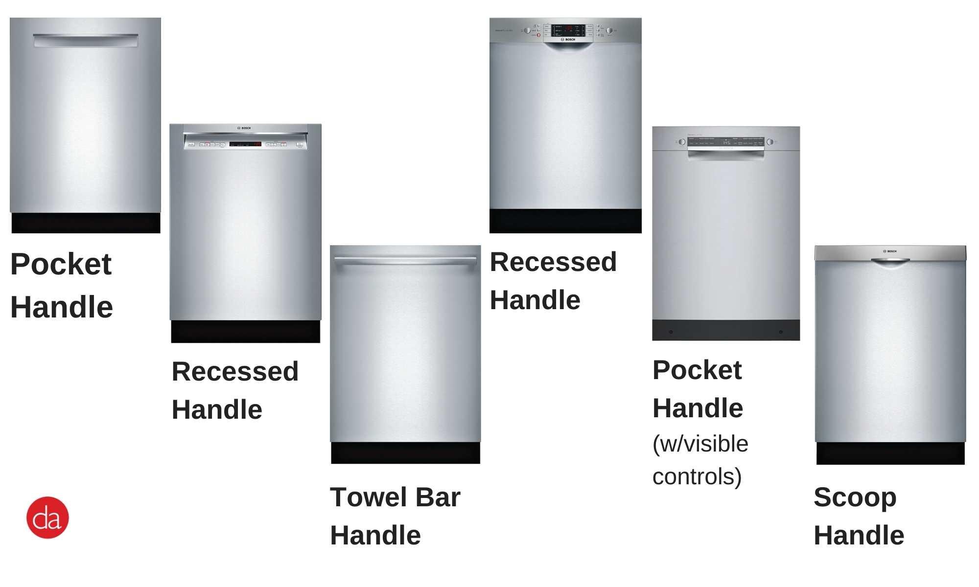 Bosch dishwasher door styles