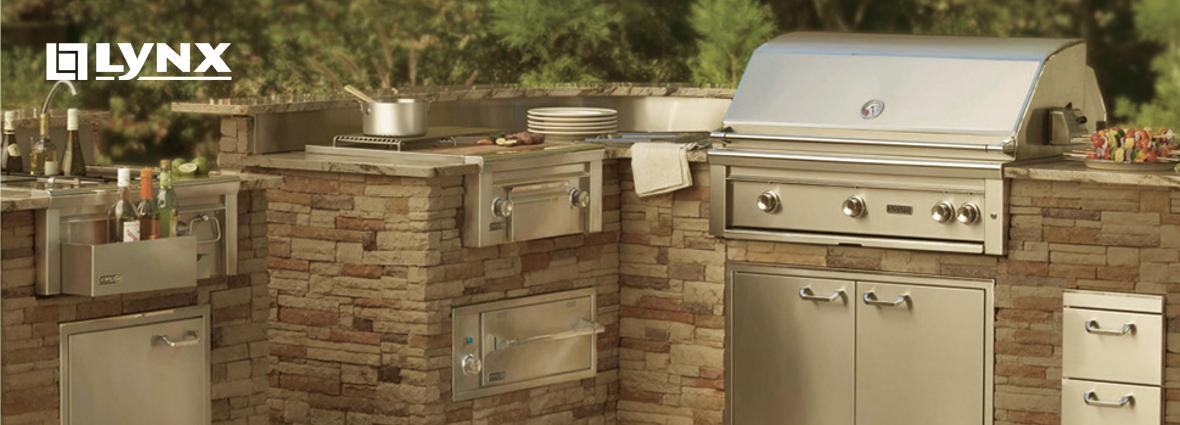 Shop for lynx outdoor kitchens new jersey new york for Outdoor kitchen without grill