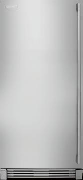 electrolux e32af75jps 186 cu ft allfreezer with 2 glass shelves 3 smoothglide baskets air filter soft freeze bin