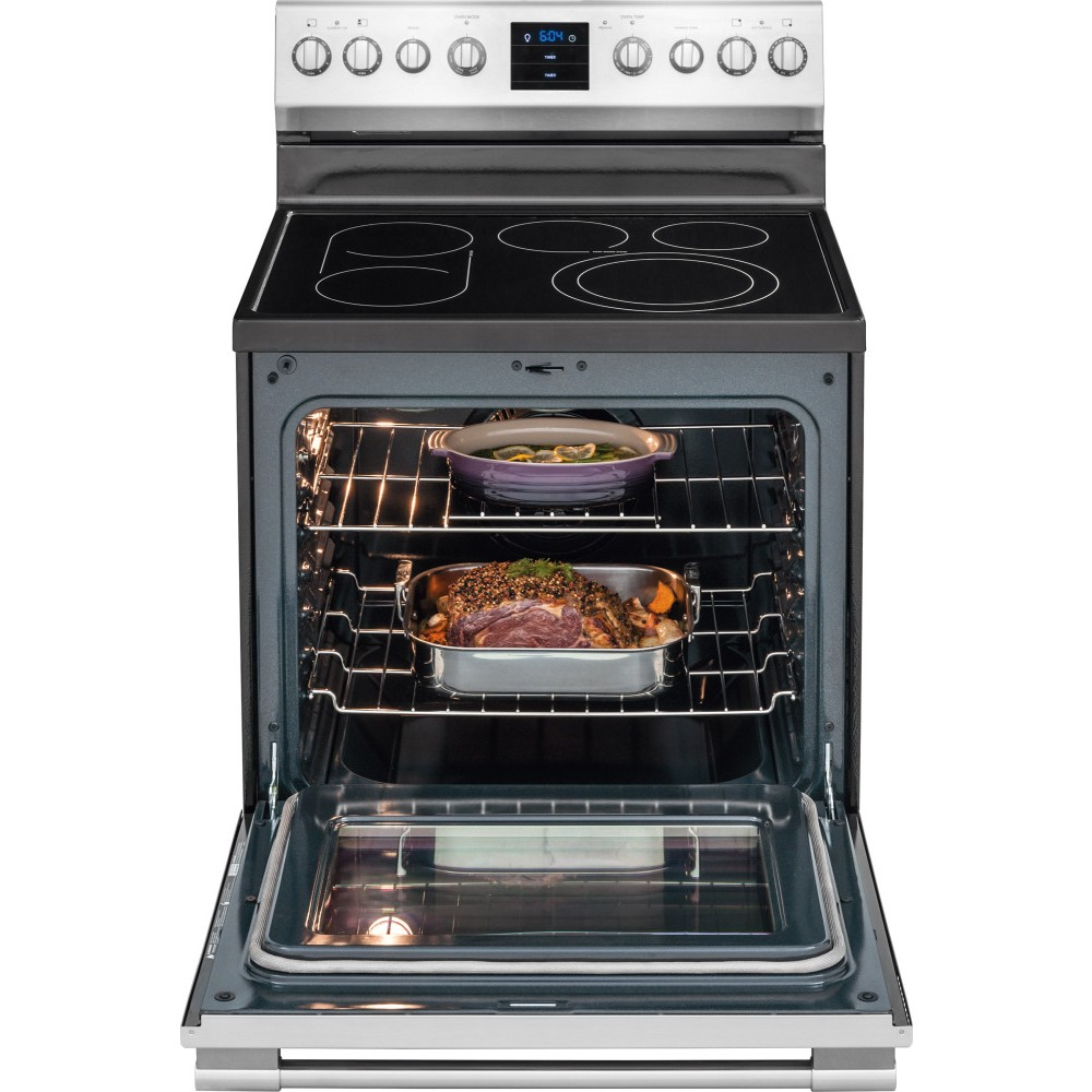 Professional Electric Stoves And Ovens For The Home ~ Fpef qf frigidaire professional electric range