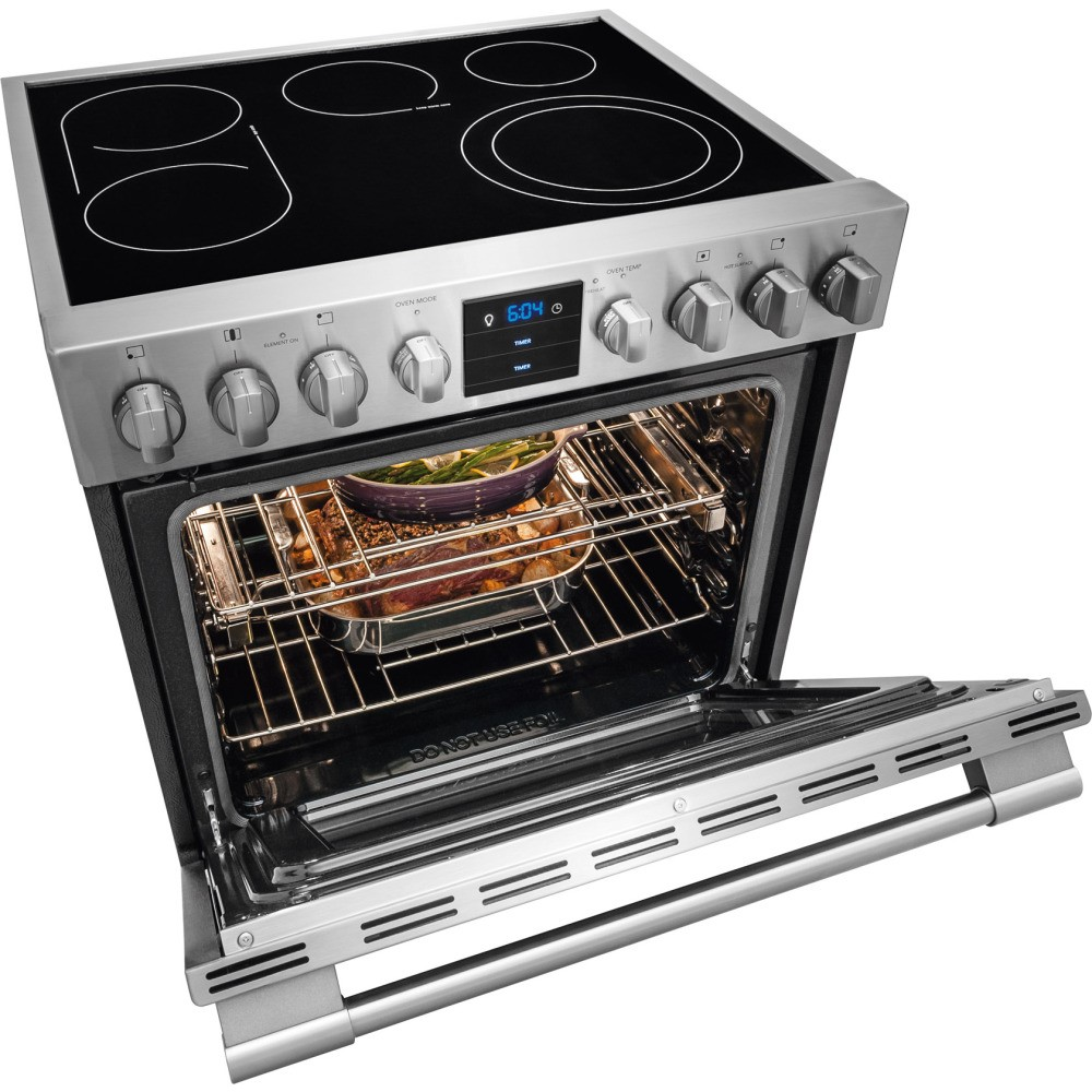Professional Electric Stoves And Ovens For The Home ~ Fpeh rf frigidaire professional quot electric range
