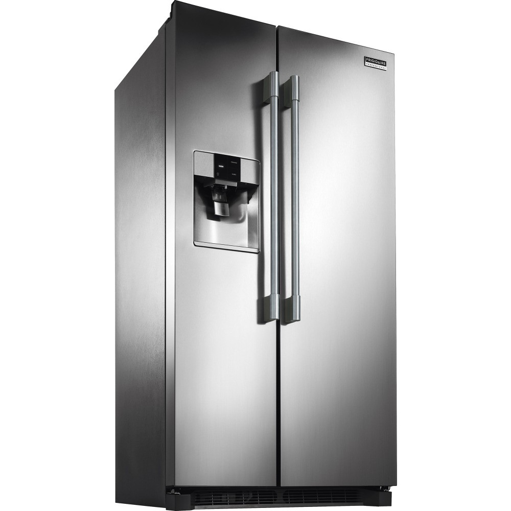 "Frigidaire Side By Side Counter Depth Refrigerator FPSS2677RF | Frigidaire Professional 36"" 26 Cu. Ft. Side ..."