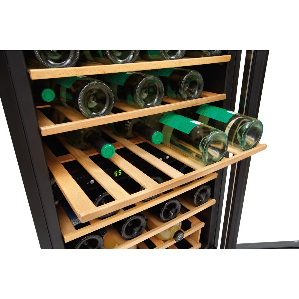 Ffwc3822qs Frigidaire 22 Quot Dual Zone Wine Cooler 38 Bottles