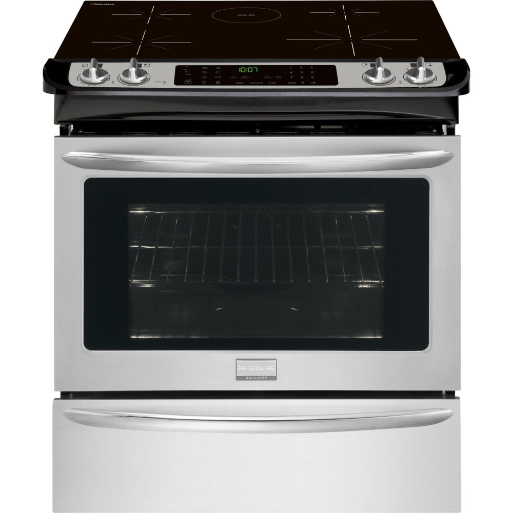 Fgis3065pf Frigidaire Gallery 30 Quot Slide In Induction Range