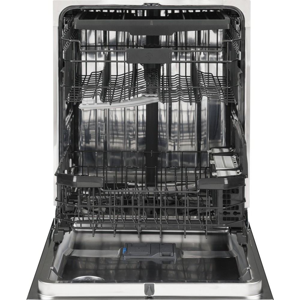 Gdt590smjes ge stainless steel interior dishwasher with - Dishwasher with stainless steel interior ...