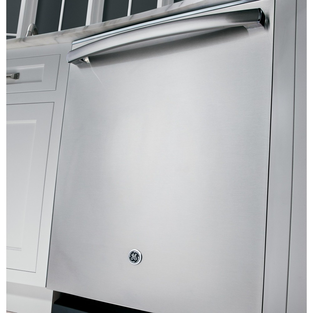 Gdt590ssjss ge stainless steel interior dishwasher with - Dishwasher with stainless steel interior ...