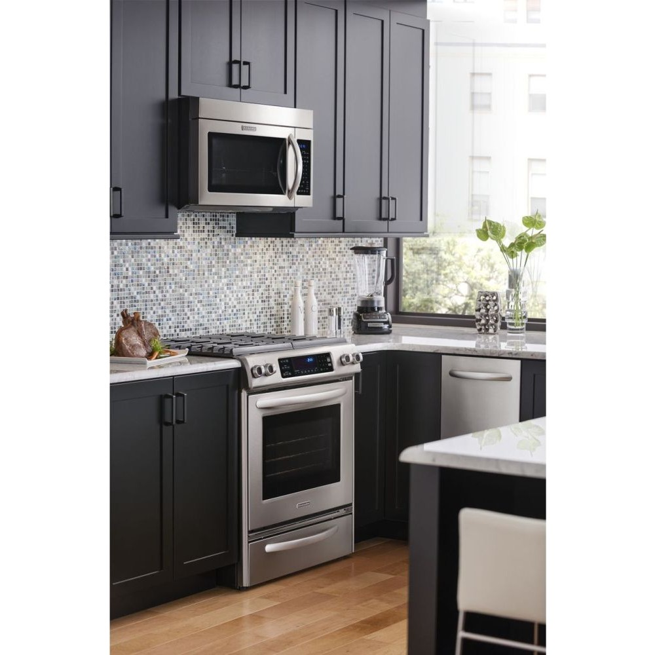 Khmc1857bsp Kitchenaid 30 Quot Over The Range Microwave Oven