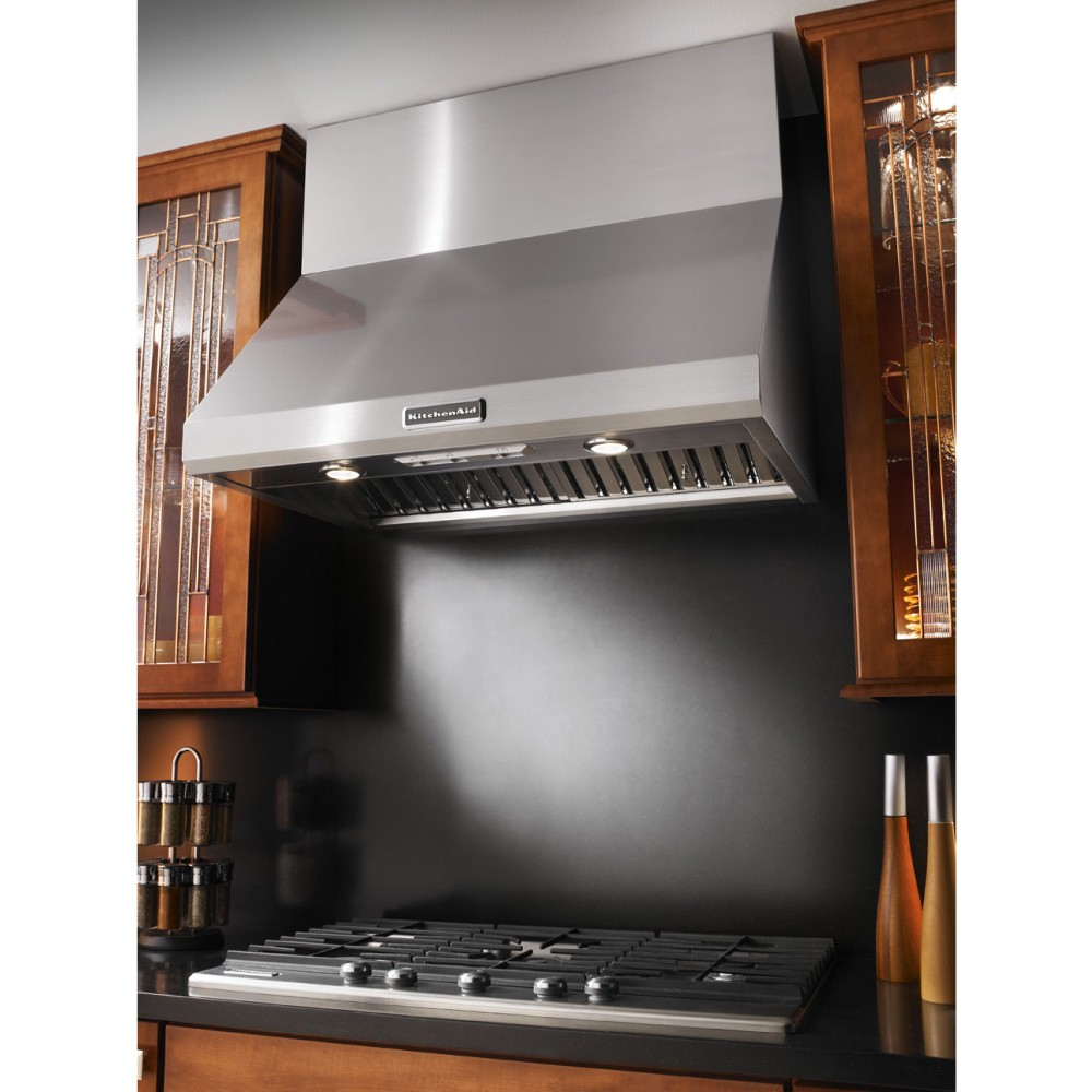 Kitchen Range Hoods Product ~ Kitchenaid kxw yss quot wall mount canopy range hood