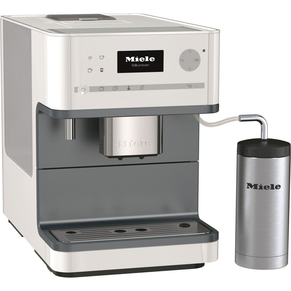 miele cm 6310 coffee system white. Black Bedroom Furniture Sets. Home Design Ideas