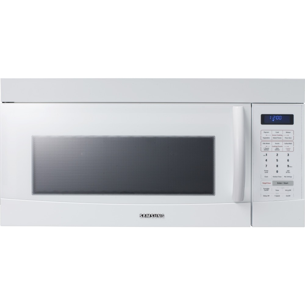 Samsung Mw1080sta 1100 Watts Microwave Oven: Samsung SMH9187W 1.8 Cu. Ft. 1100 Watt Over-the-Range