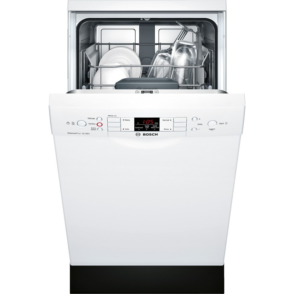 spe53u52uc bosch 300 series 18 built in dishwasher white. Black Bedroom Furniture Sets. Home Design Ideas