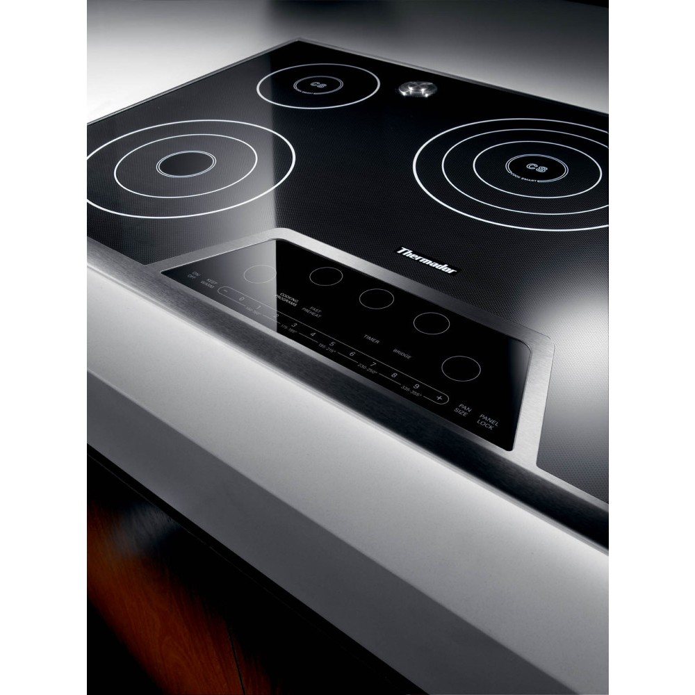 Thermador Ces365fs 36 Quot Masterpiece Electric Cooktop Black